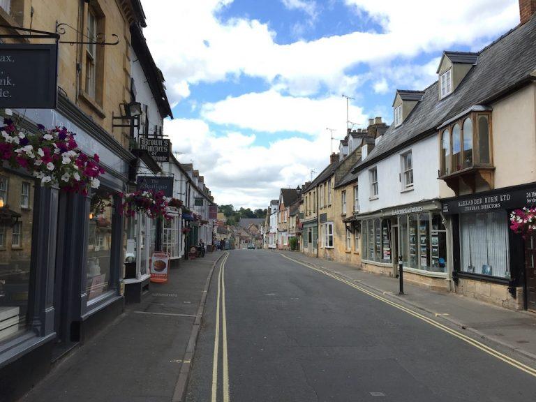 Hauptstraße von Winchcombe